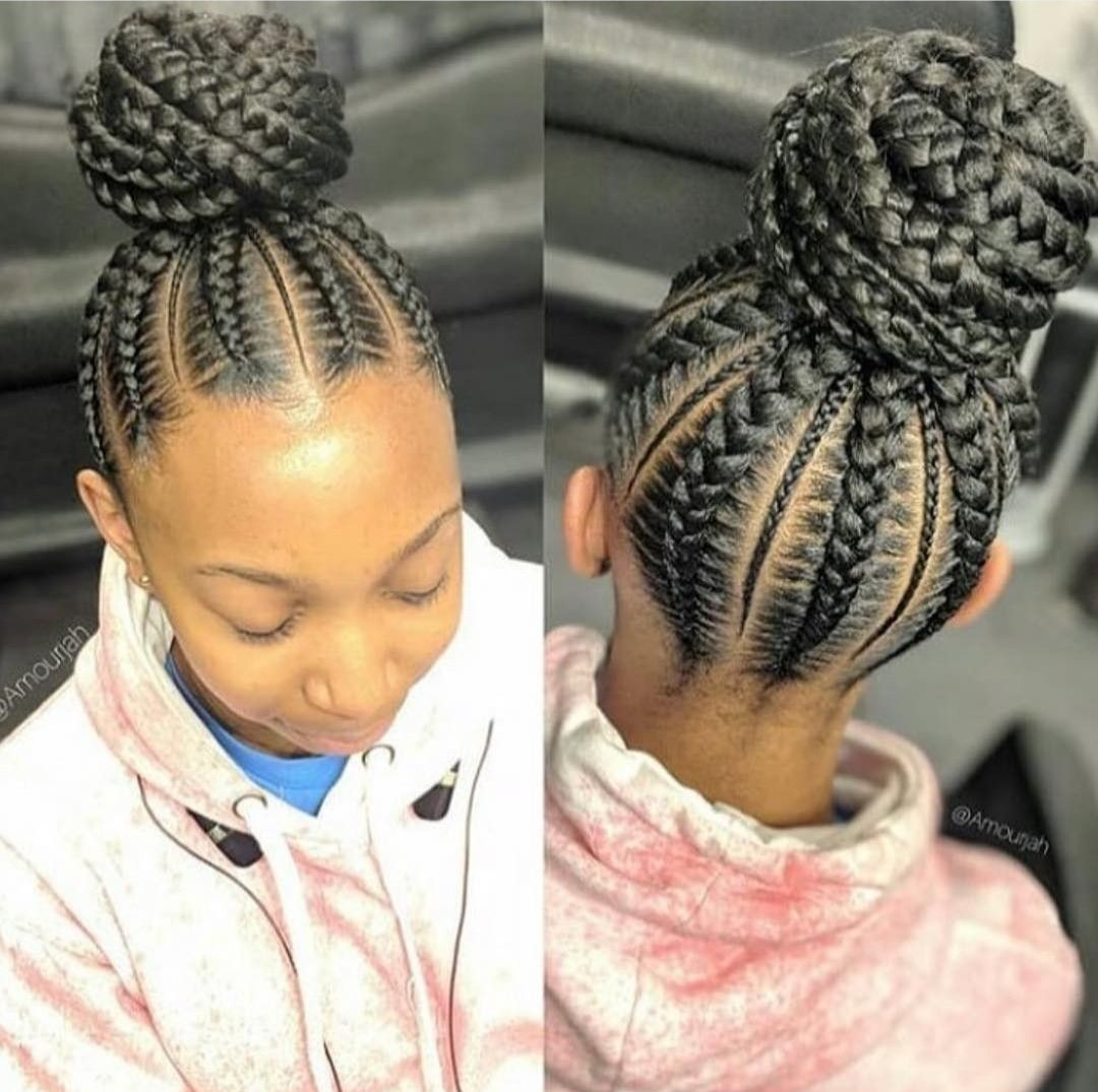 41++ Cornrows braided up in a ponytail ideas in 2021