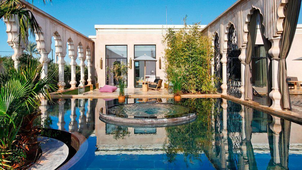 Luxury hotels in marrakech palais namaskar marrakech for Chambre a part couple