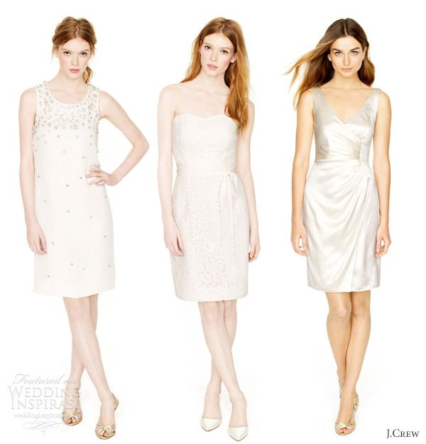 J.Crew Wedding Dresses Spring 2012 | * Short & Tea Length Wedding ...