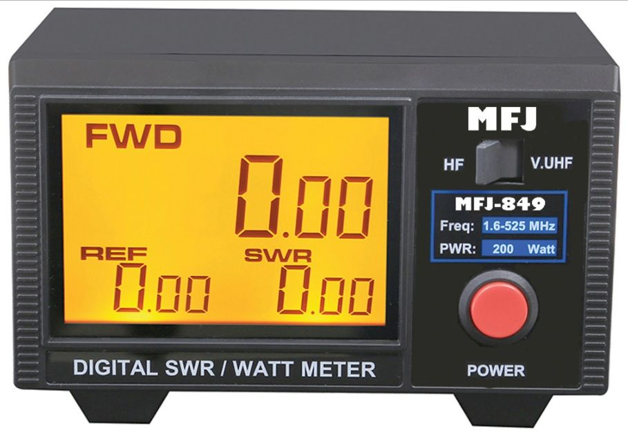Unbox And Test Mfj 849 Digital Swr Meter Ham Radio Pinterest