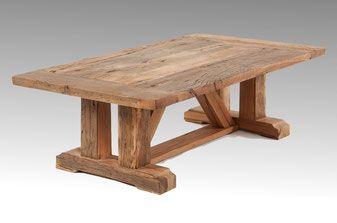 Couchtisch Eiche massiv - Altholzdesign fertigt Ihren Couchtisch ...