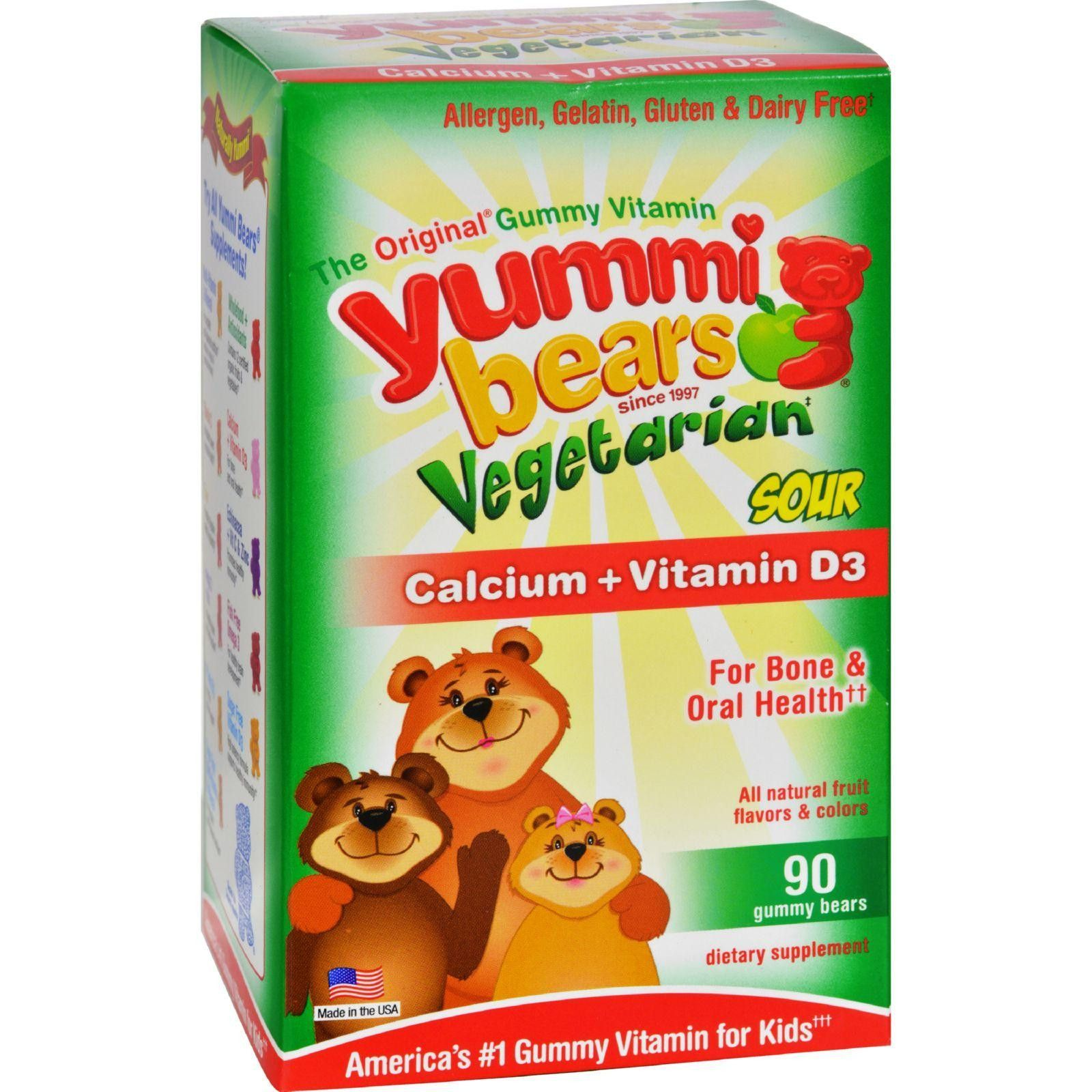 The Original Gummy Vitamin Allergen, Gluten, Gelatin and ...