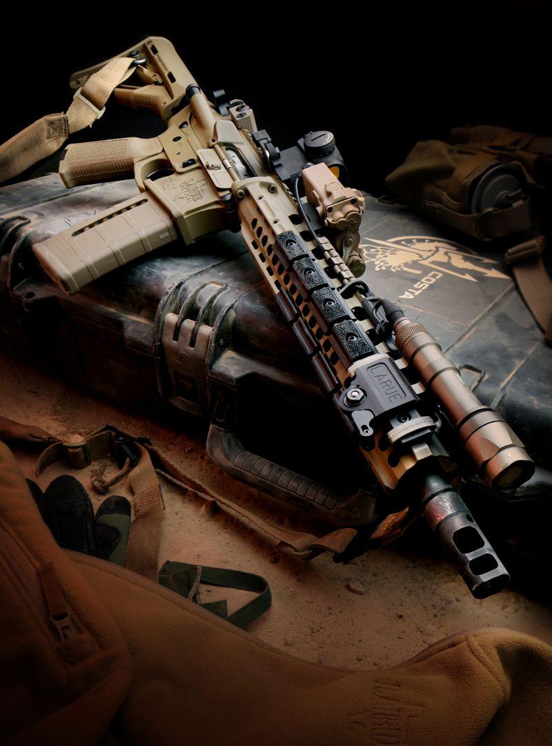 LaRue Tactical Costa-Edition OBR Hybrid 5.56 Rifle... mmm ...