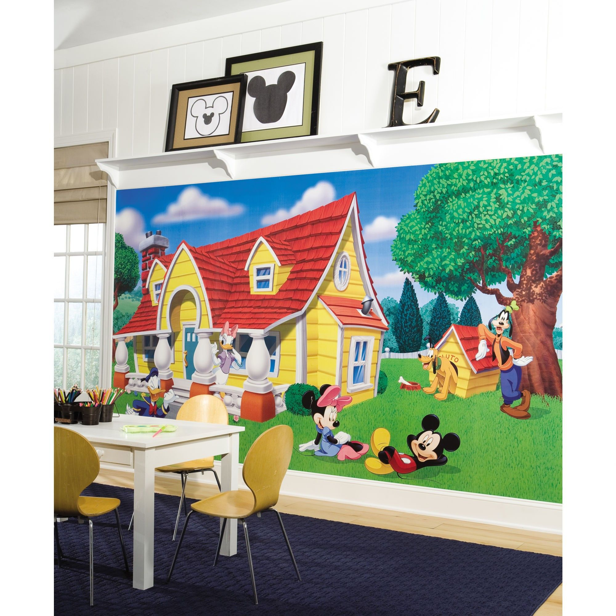 17 Best images about Mickey Mouse playroom on Pinterest   Disney, Mickey  mouse wall decals and Kids sofa