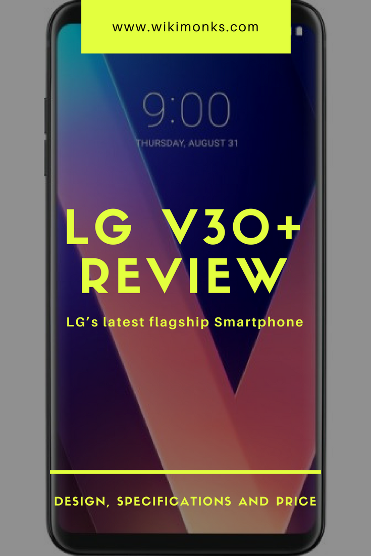 LG V30+, LG Electronics made televisions, tablets, home