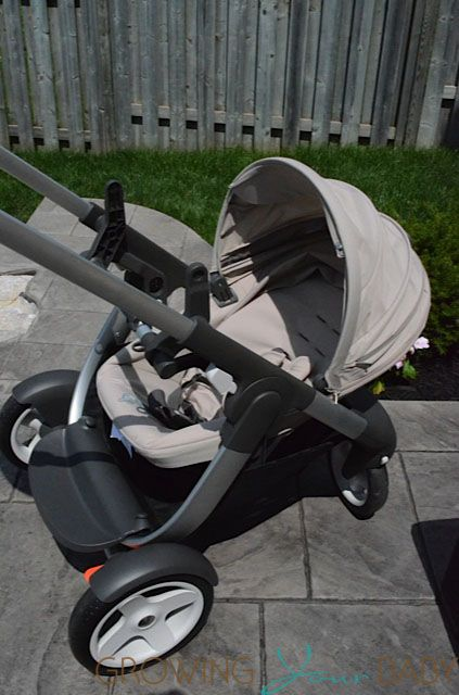 stroll in luxury with the stokke crusi double strollers and parents. Black Bedroom Furniture Sets. Home Design Ideas