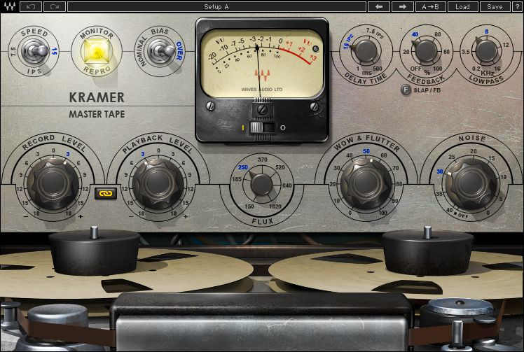 Tape Plugin Kramer Master Tape Waves Kramer Tape Audio
