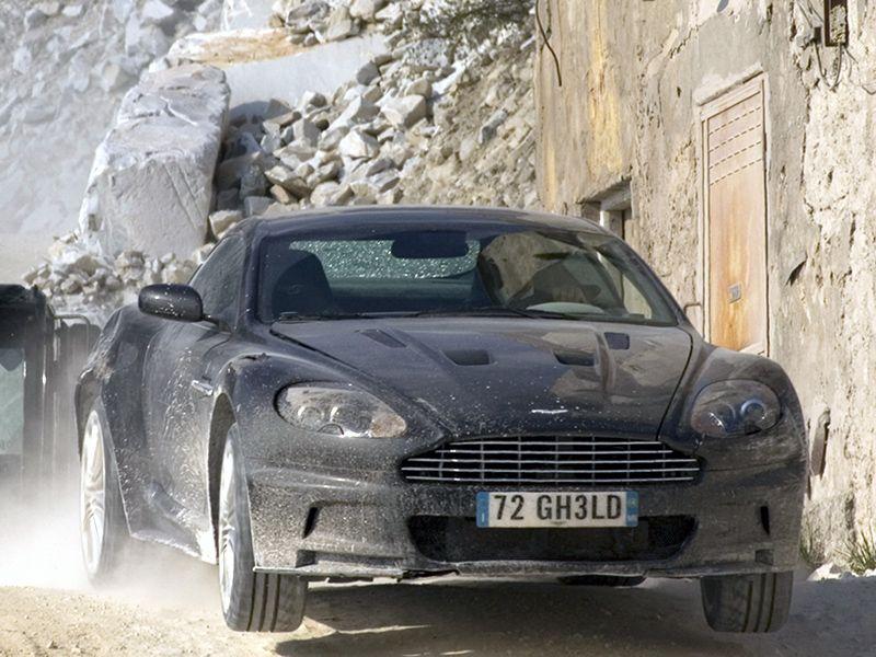 Aston Martin Dbs 007 Quantum Of Solace 2008 Dreamzz