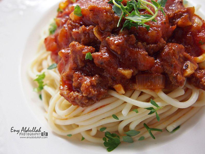 Cara Buat Kuah Spaghetti Resepi Spaghetti Bolognese Resep Makanan Memasak Makanan