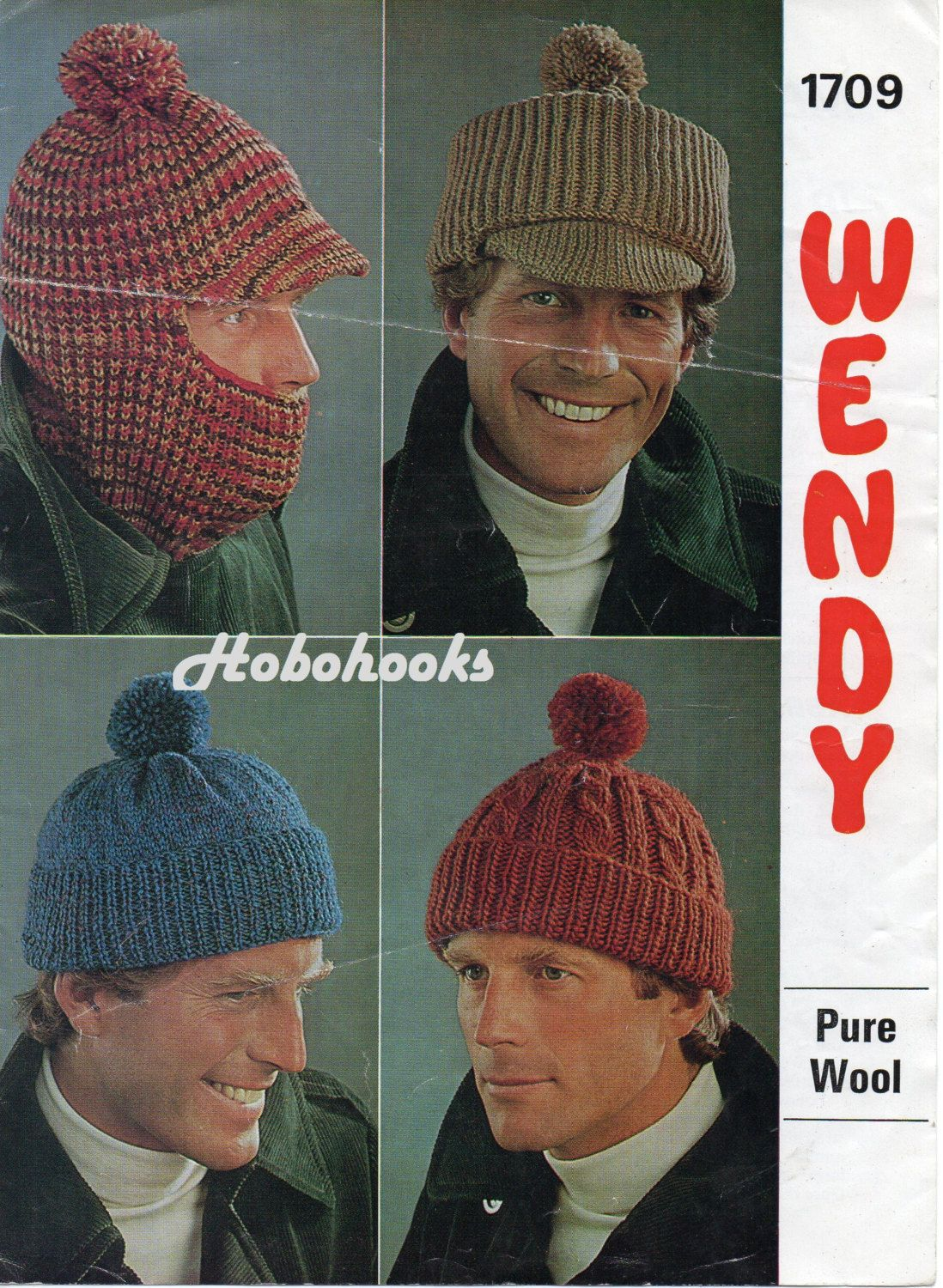 bf7fd255e6a A personal favourite from my Etsy shop Mens Hat Knitting Pattern