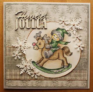 Tirpuusen kortteeri: Joulukortit 2013