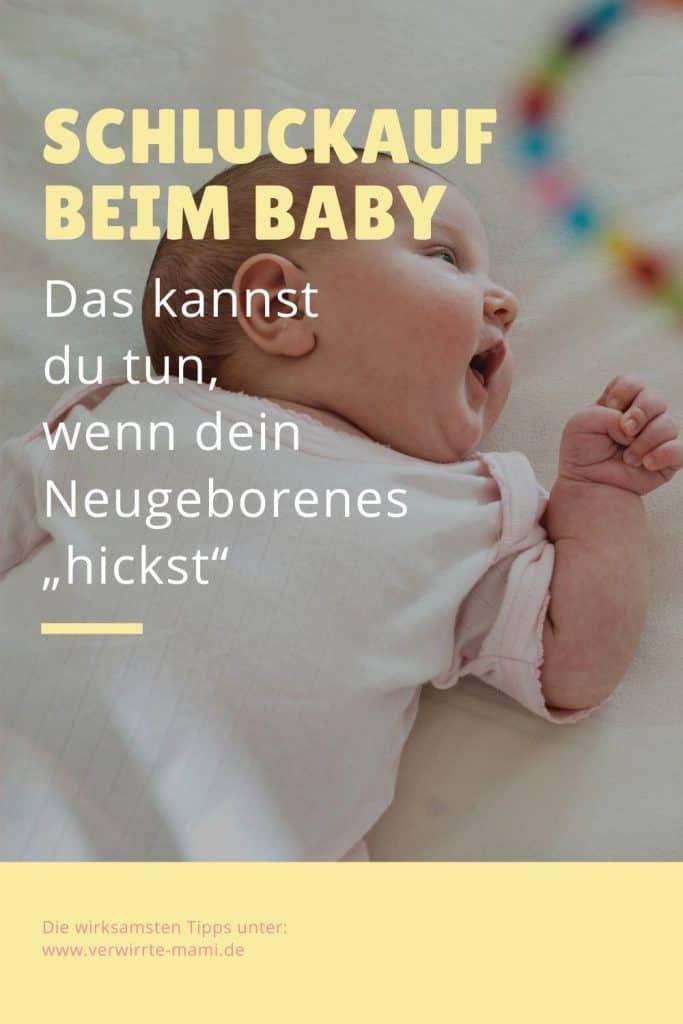 Schluckauf Baby: So hilfst du deinem Wonnepropen
