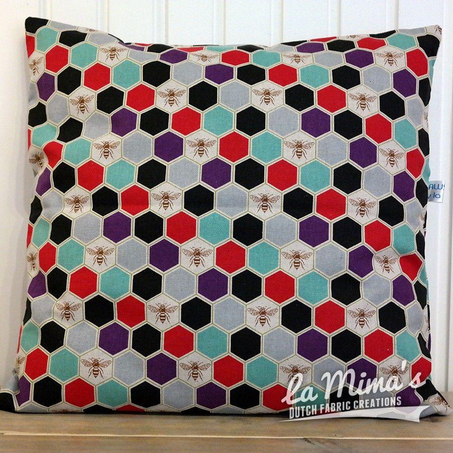 Cushion Cover Bee Happy