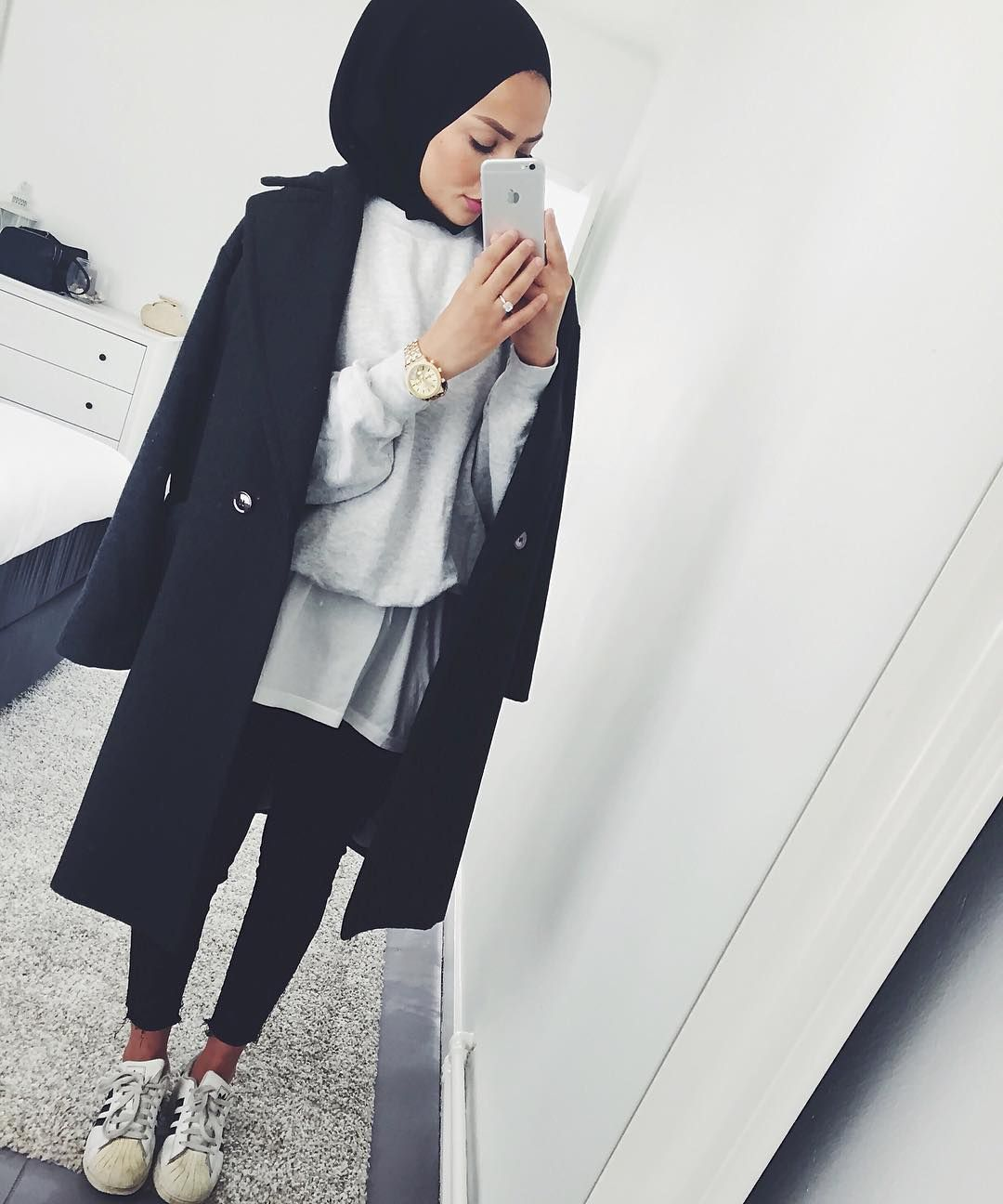 Pinterest @eighthhorcruxx. Casual Outfit | Hijab Fashion | Pinterest | Hijab Outfit Hijabs And ...