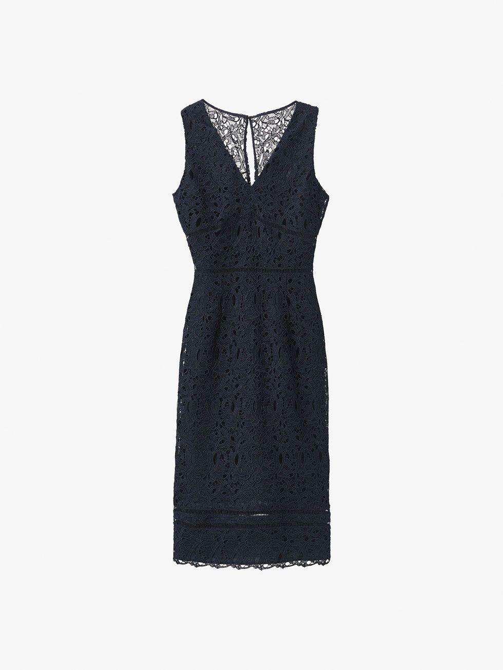 1bdb7b293f ΦΟΡΕΜΑ ΣΕ ΝΑΥΤΙΚΟ ΣΤΥΛ ΓΚΙΠΟΥΡ από ΓΥΝΑΊΚΑ - Φορέματα της Massimo Dutti για  την Φθινόπωρο χειμώνας