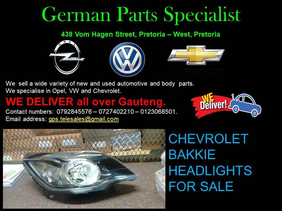 At German Parts Specialists We Specialise In Volkswagen Opel And Chevrolet With Us You Can Get Any Parts That You Are In Need O Opel Sell Used Car Volkswagen