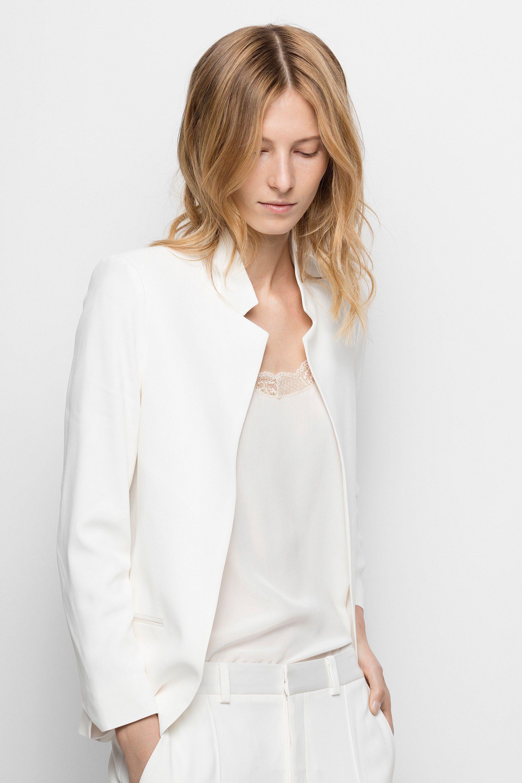 Weißes Kleid · ZADIG   VOLTAIRE Volly Deluxe Blazer - ecru.  zadigvoltaire   cloth   Blazer Für 6e4208e352