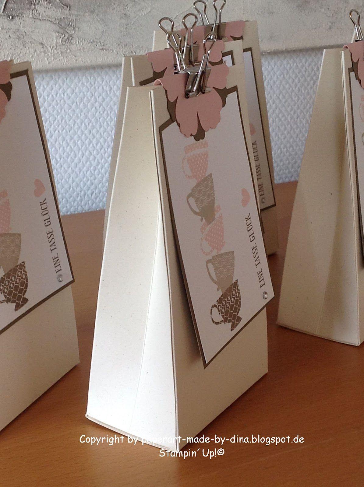 sch nes aus papier handgemacht t te mit anleitung anleitungen in 2018 pinterest t te. Black Bedroom Furniture Sets. Home Design Ideas