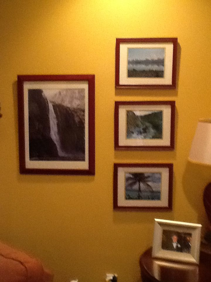 Paint frames same color pictures from vacstiom | Good ideas 2 ...