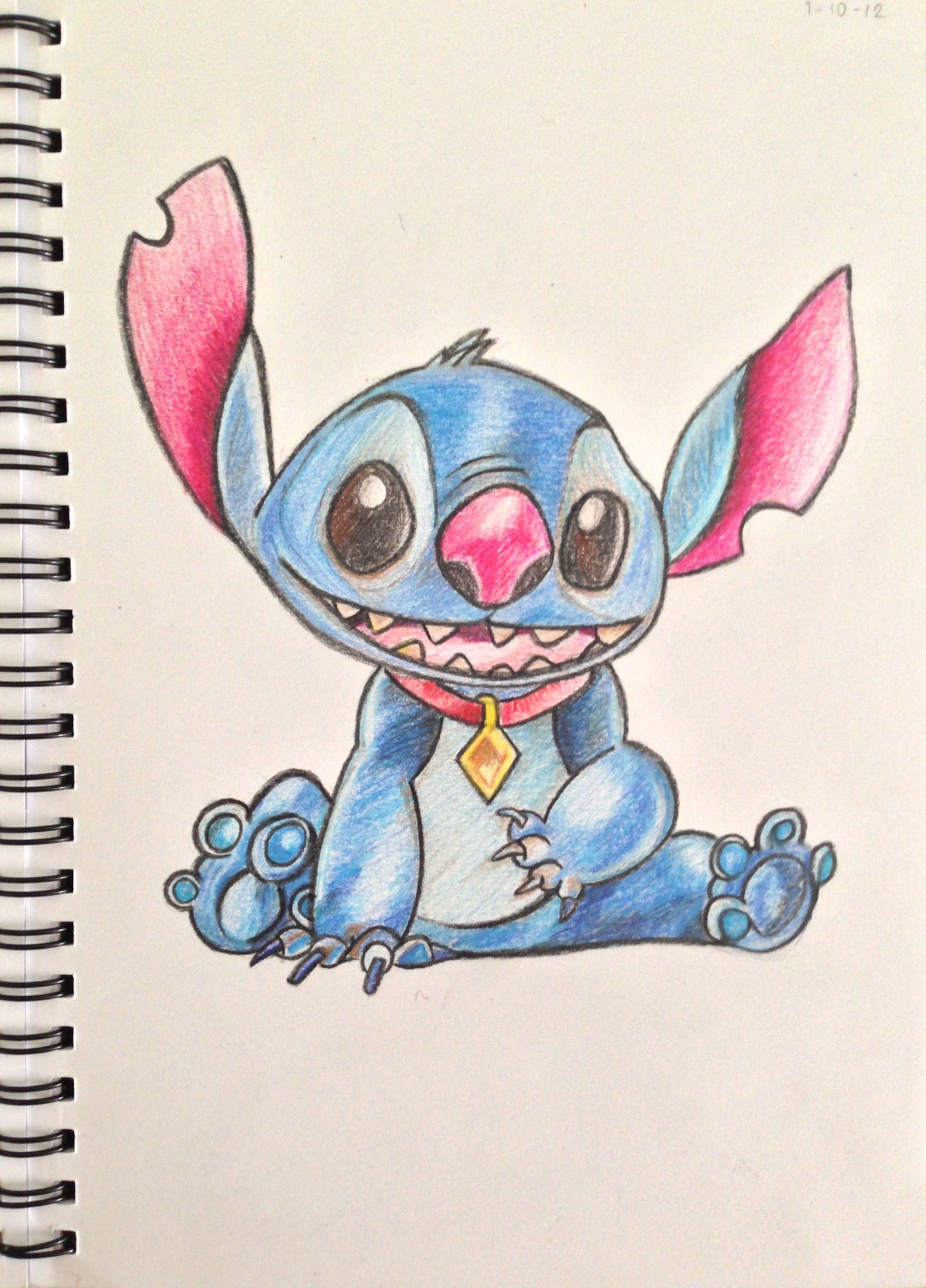 Stitch!! Inspired in the art of Joaquim Bundo!