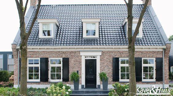 Afbeeldingsresultaat voor baksteen landelijk huis huizen