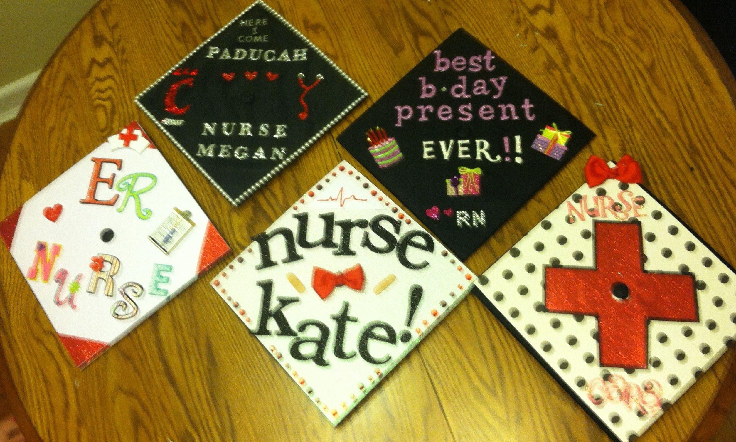 Graduation I heart to craft Nurse graduation cap