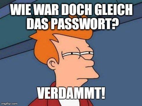Ausgesperrt Verlorene Passworter Einfach Auslesen Passworter Wort Einfach
