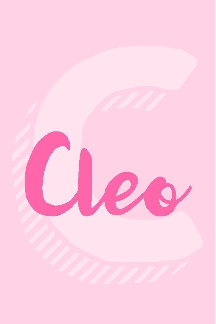 Cleo I Girl Names That Start with the Letter