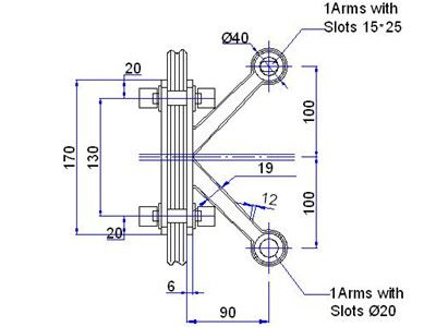 Fin Spider Fitting Dwg Drawing Public Building Pinterest Spider