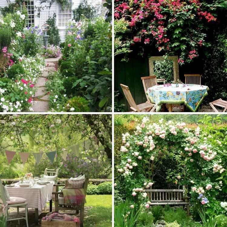 20 astuces pour am nager un petit jardin all es en for Amenagement jardin romantique