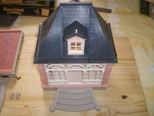 playmobil dollhouse petite maison ou veranda victorienne rose 5300 playmobil pinterest. Black Bedroom Furniture Sets. Home Design Ideas