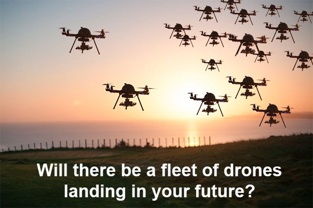 Drone factories will soon be producing thousands every day and operating a drone command center will soon become a super cool profession.