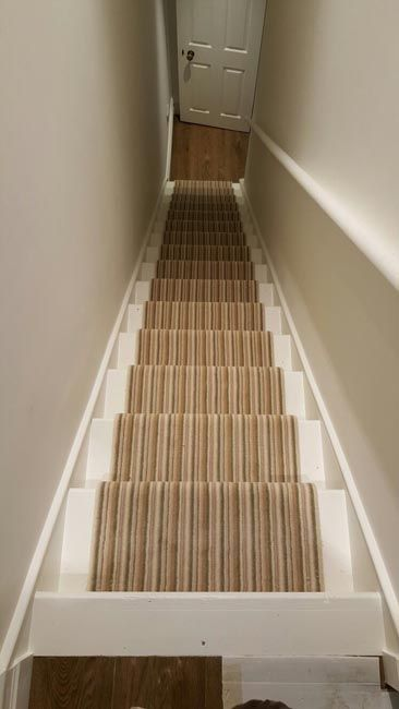 Stairs, Striped Carpet, Brass Stairrods | The Flooring Group | Hallway |  Pinterest | Striped Carpets, Striped Carpet Stairs And Carpet Stair Runners