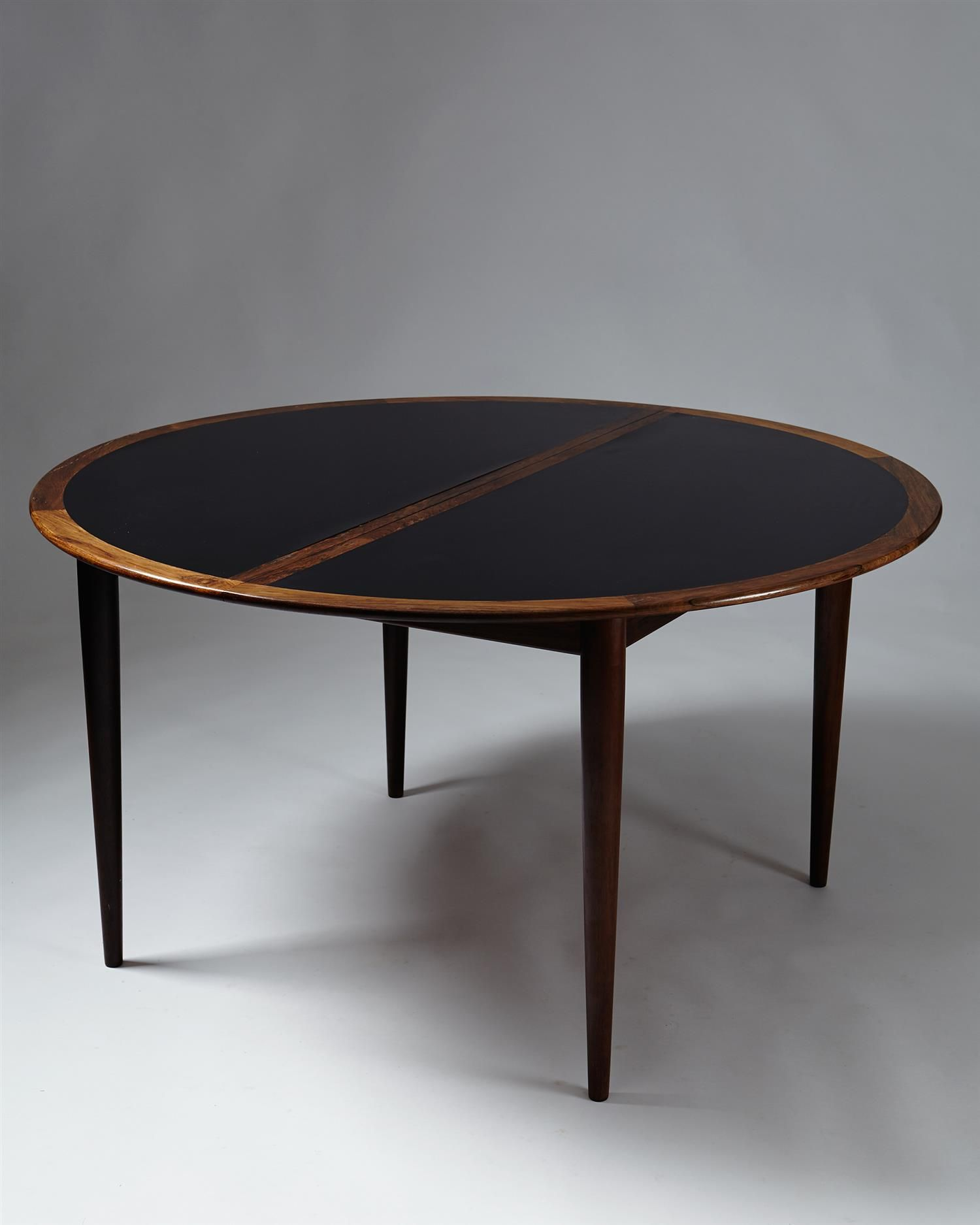 Grete Jalk Rosewood And Laminate Dining Table For P Jeppesen