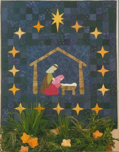 Nativity Quilt: Mom made this | Nativities | Pinterest | Christmas ... : nativity quilts - Adamdwight.com