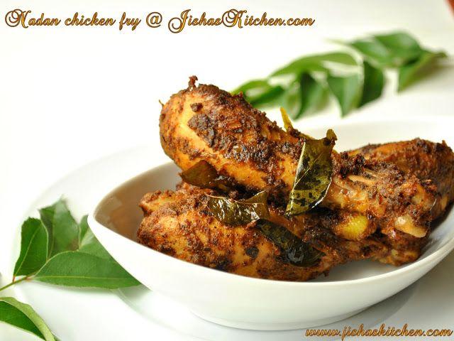 Jishas kitchen nadan chicken fry indian recipes kerala nadan food forumfinder Images