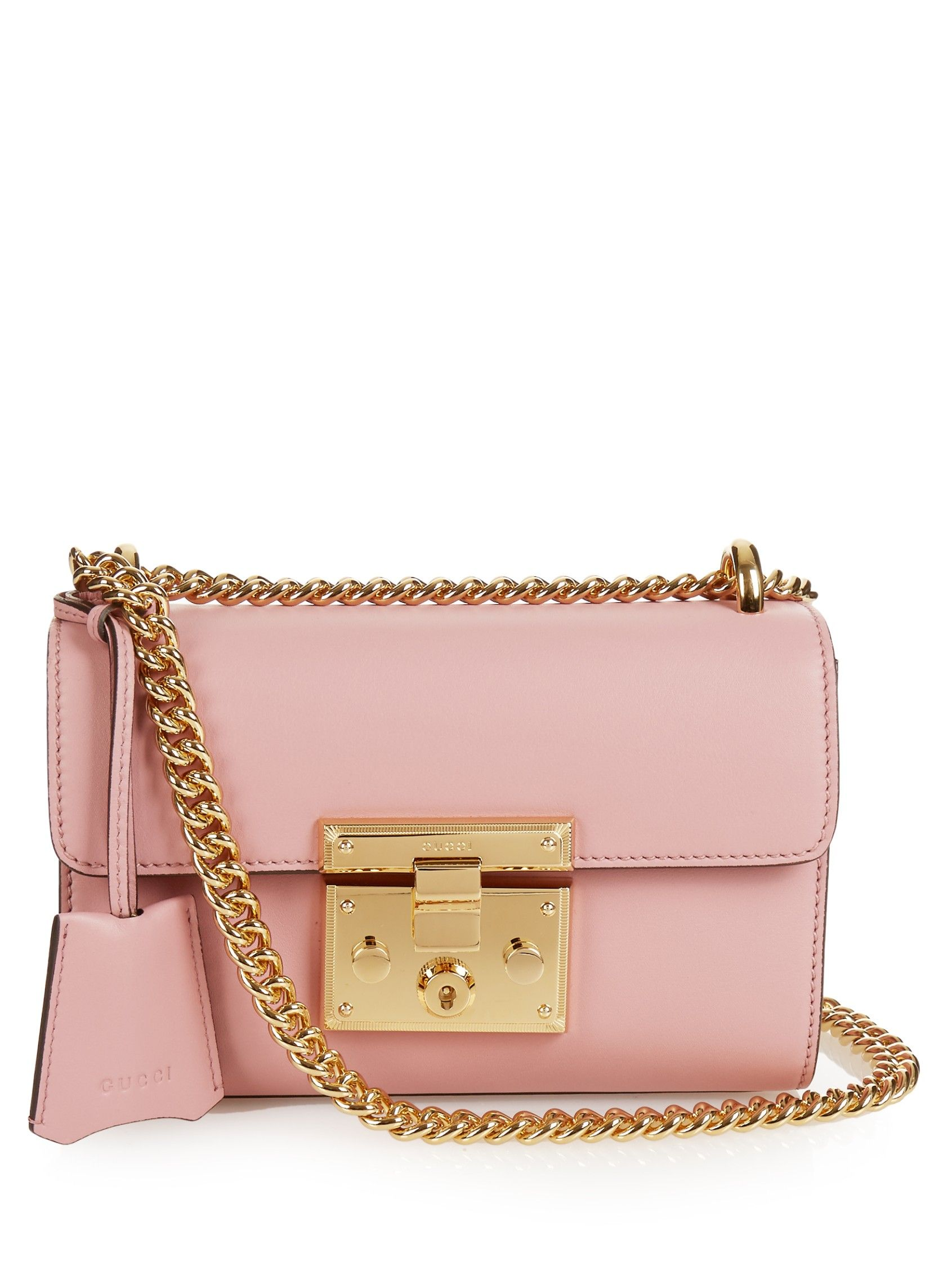 251e3dd4f0 Padlock mini leather shoulder bag | Gucci | MATCHESFASHION.COM AU ...