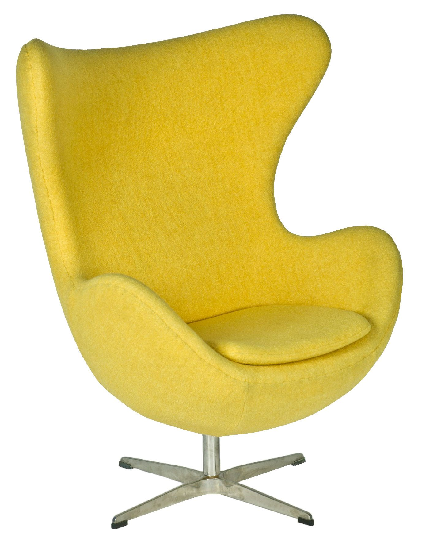 Yellow Egg Chair Egg Chair Inspired By Designs Of Arne Jacobsen