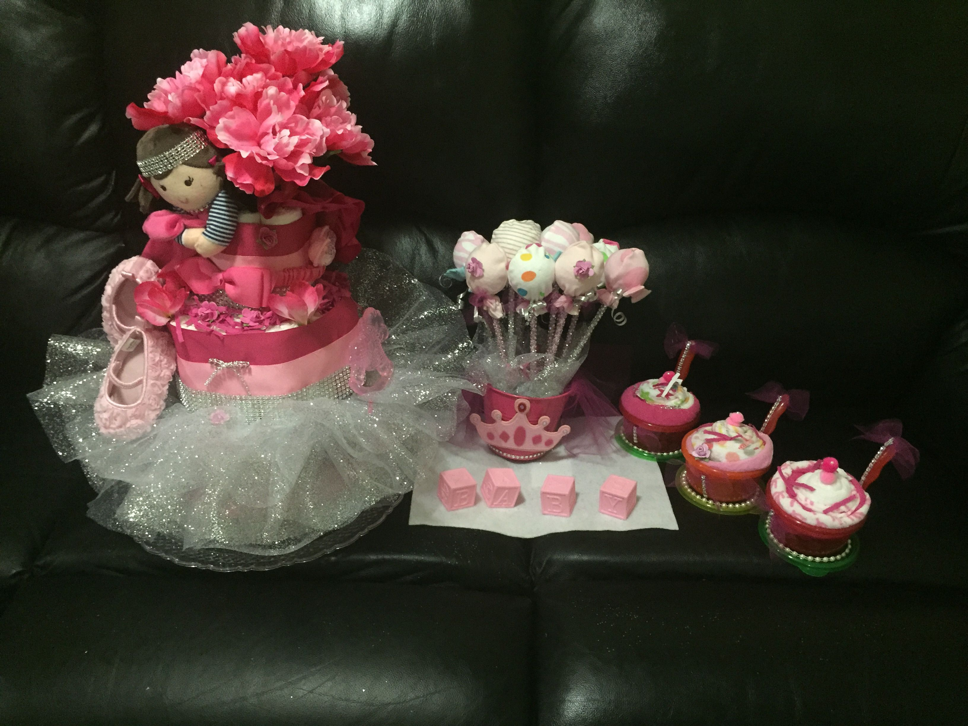 Girl baby shower idea
