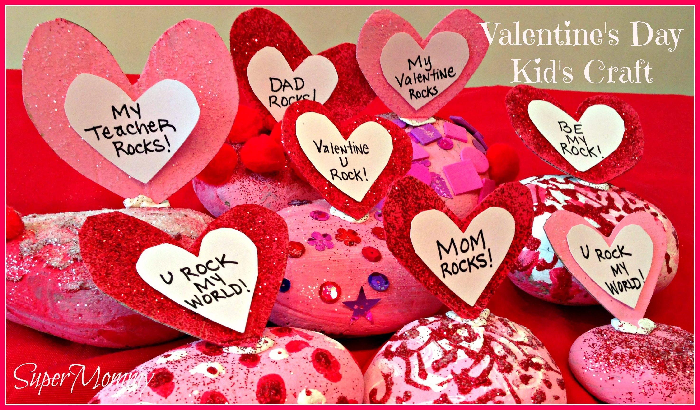 Romance For Children On Valentines Day Providing