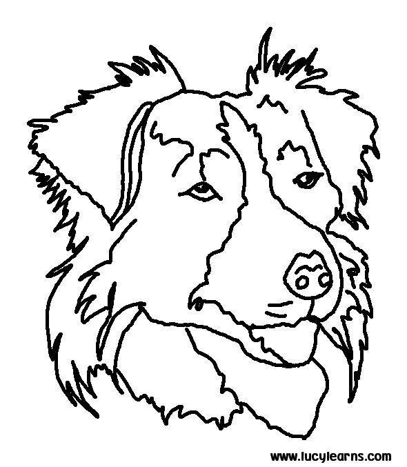 Pin By Dieneke De Beer Drok On Tekeningen Dieren Dog Coloring Page Dog Stencil Dog Coloring Book