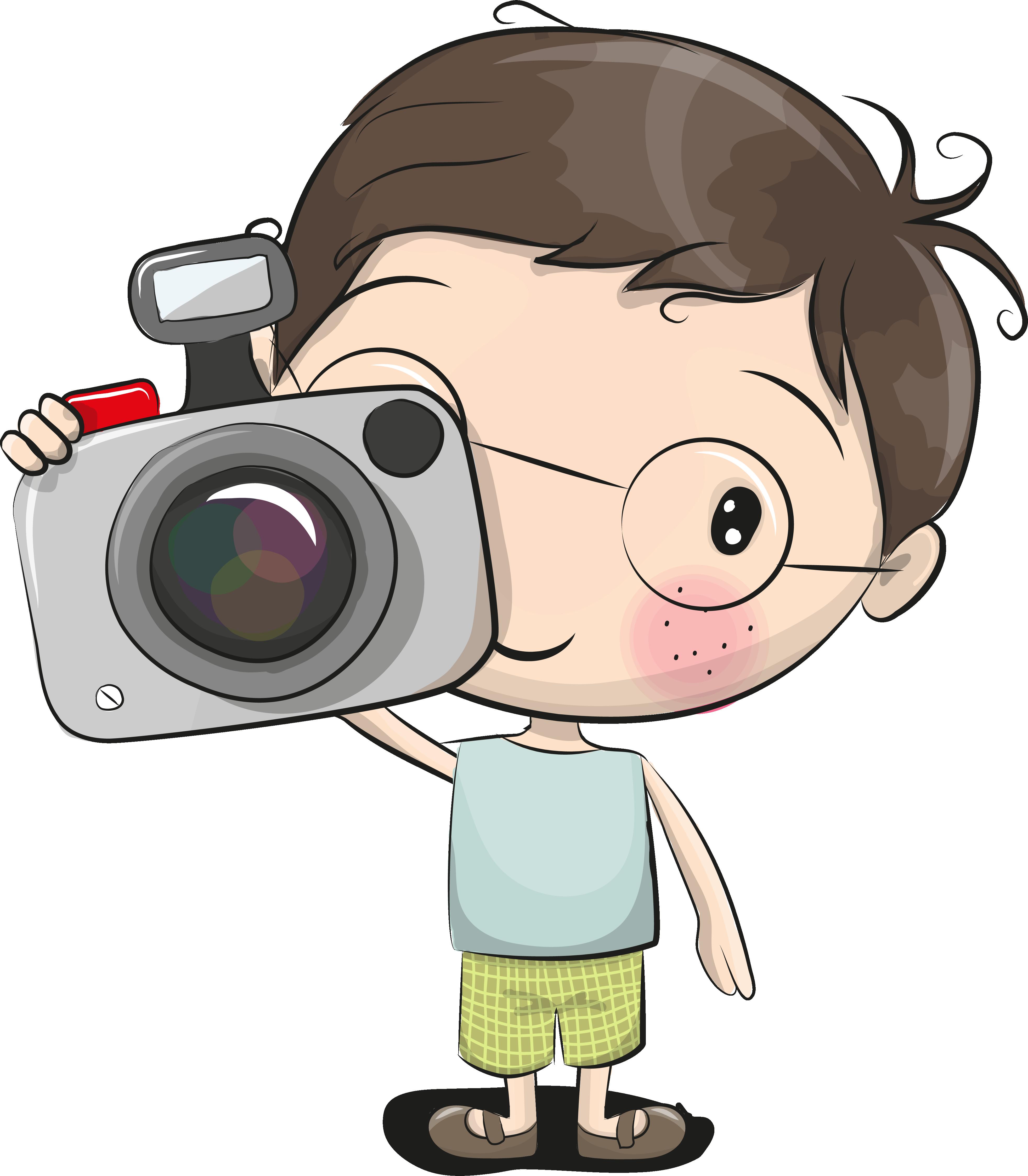 Картинки мальчик с фотоаппаратом