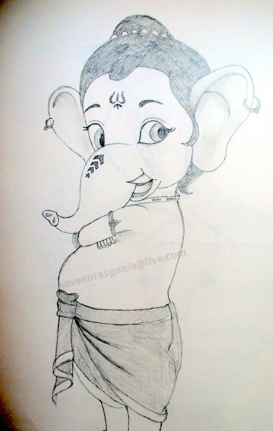 Krishna Pencil Sketch Pencil Sketch