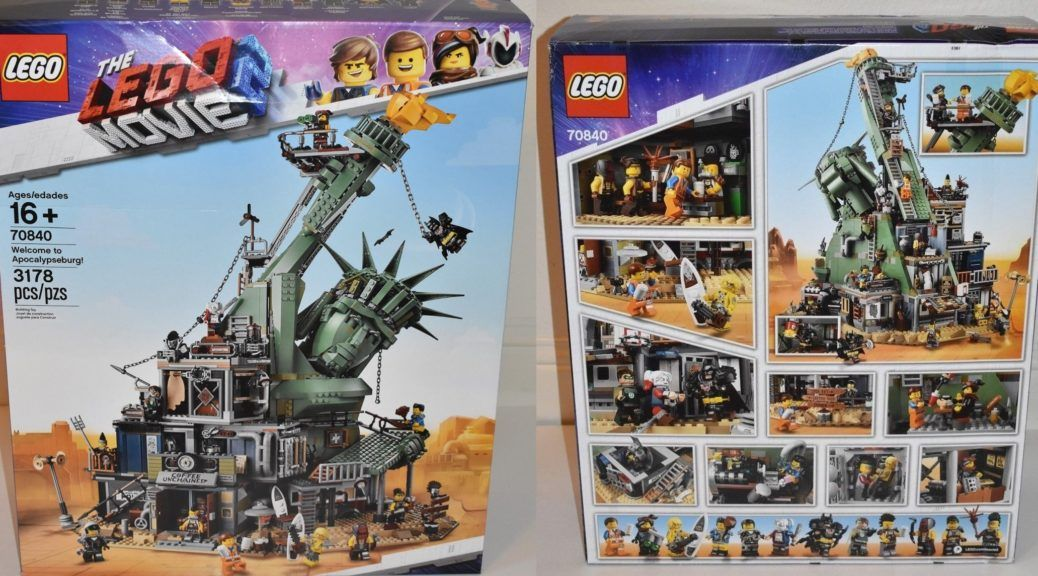 Lego 70840 The Lego Movie 2 Welcome To Apocalypseburg Revealed On Ebay Minifigure Price Guide Lego Movie Lego Movie 2 Lego