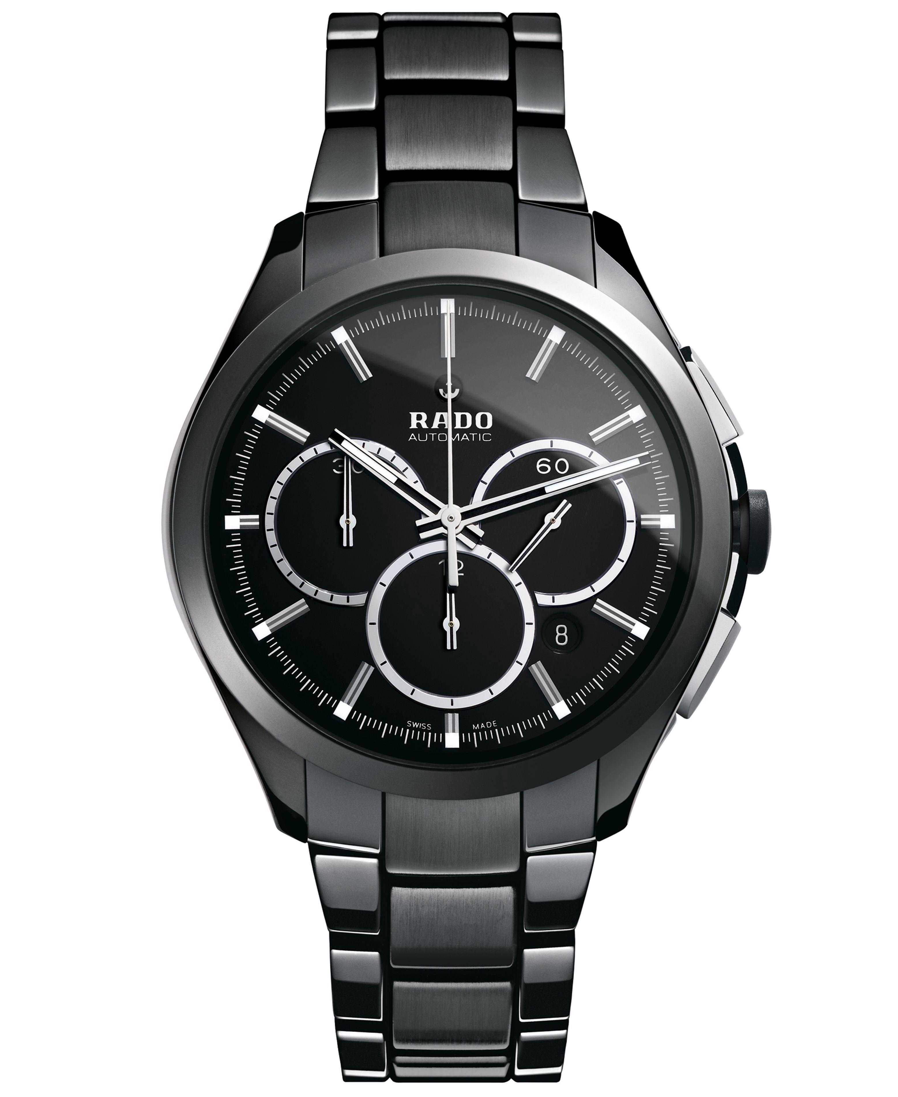 Rado Watch, Men's Swiss Automatic Chronograph Hyperchrome