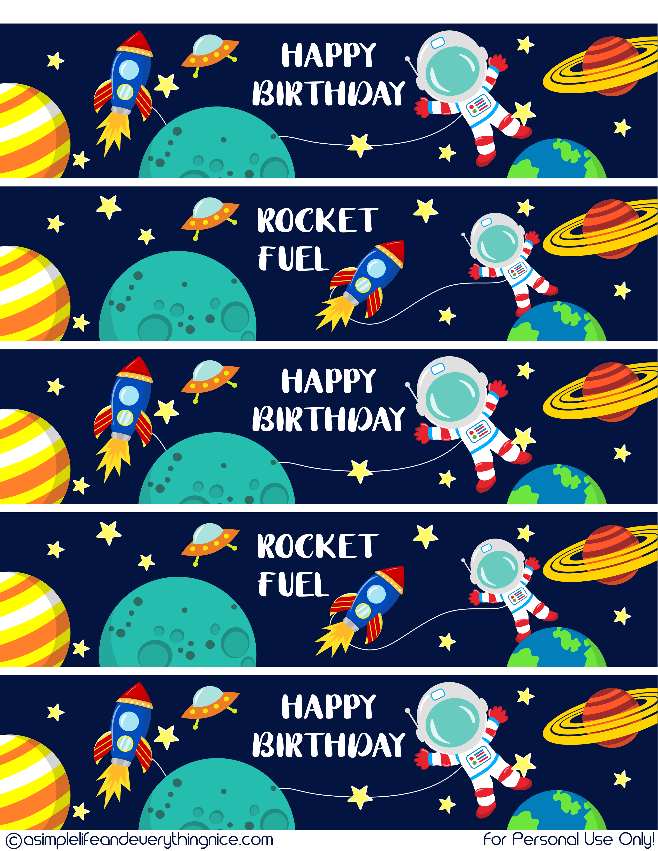 A Space Themed Birthday Party Matthew S Outer Space 8th