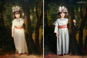 Recreacion de pinturas antiguas
