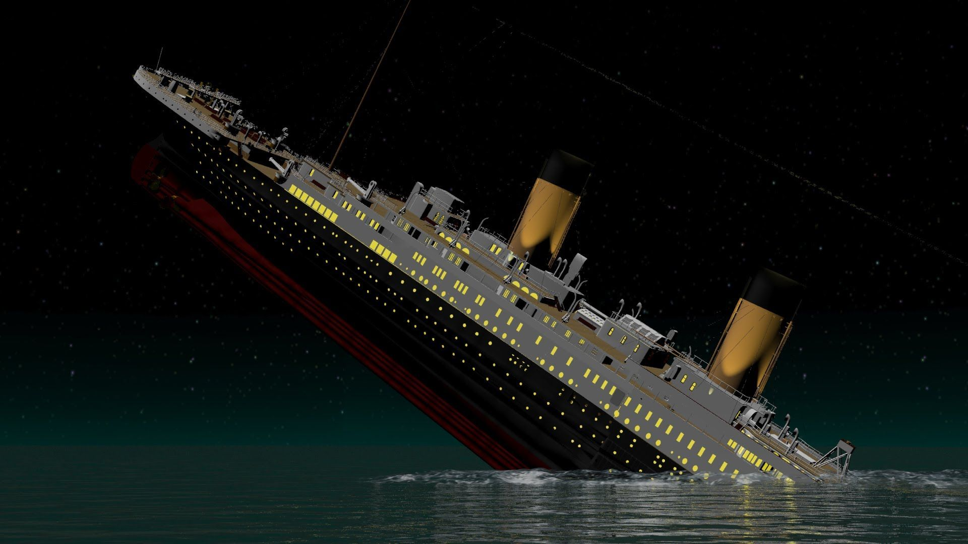 Roblox Britannic Sinking Ship Teaser Trailer Pictures Of The Titanic Before And After It Hit The Iceberg