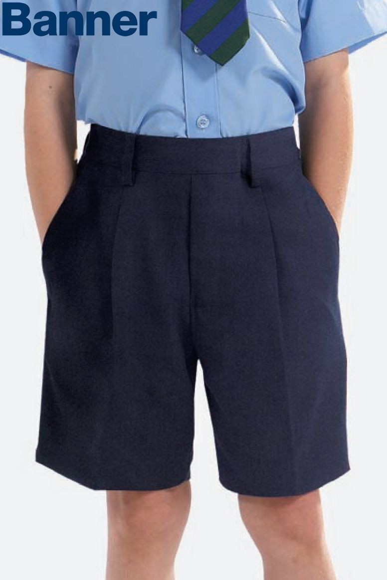 Banner Essex Junior Elasticated Back Shorts in Navy | Junior ...