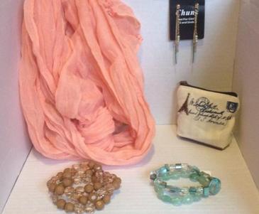 5 pcs scarf set - Jazzy's Hope Chest   Scott's Marketplace